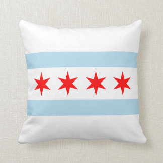 Chicago Flag Cushion