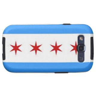 Chicago Flag Galaxy S3 Case