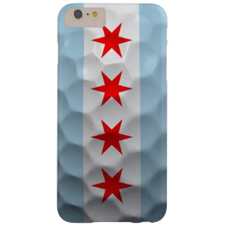 Chicago Flag Golf Ball Pattern Barely There iPhone 6 Plus Case