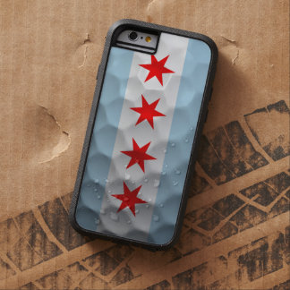 Chicago Flag Golf Ball Pattern Tough Xtreme iPhone 6 Case