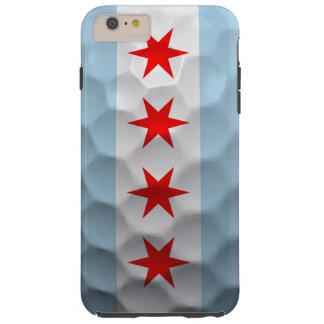 Chicago Flag Golf Ball Pattern Tough iPhone 6 Plus Case