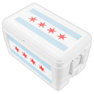 Chicago Flag Ice Chest