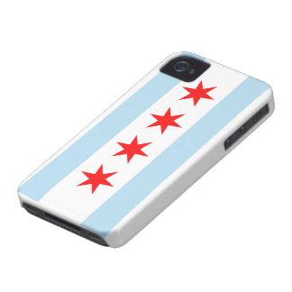 Chicago Flag iPhone 4 Cases