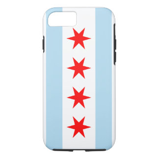 Chicago Flag - Iphone 7 Case (Tough Case)