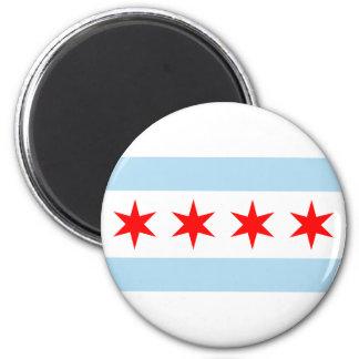 Chicago Flag Magnet
