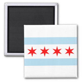 Chicago Flag Magnets