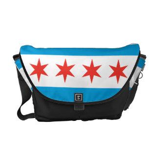 Chicago Flag Messenger Bag