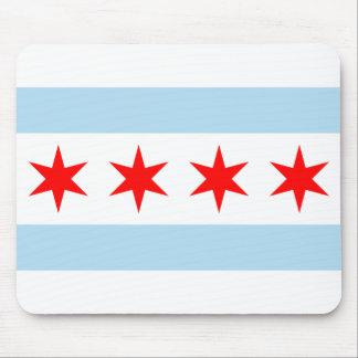 Chicago Flag Mouse Mat