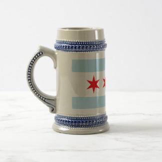 Chicago Flag Coffee Mugs