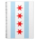 Chicago Flag Notebook
