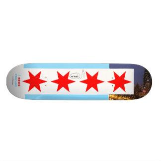 Chicago Flag Oak Street Beach Deck Skateboard Decks