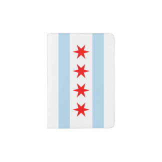 Chicago Flag Passport Holder