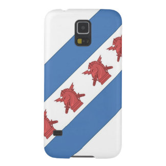 Chicago Flag PSYOP Galaxy S5 Cases