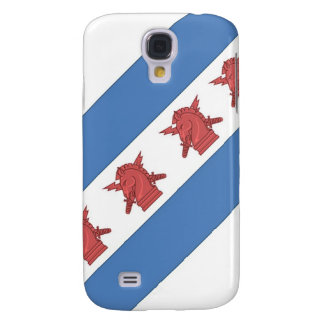 Chicago Flag PSYOP Galaxy S4 Covers