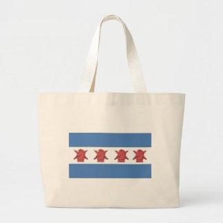 Chicago Flag PSYOP Bag