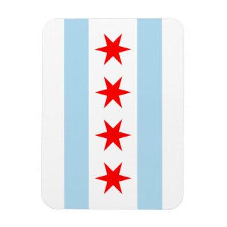 Chicago Flag Rectangular Photo Magnet