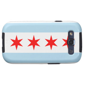 Chicago Flag Samsung Galaxy S Samsung Galaxy S3 Cases