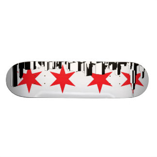 Chicago Flag Skate Decks