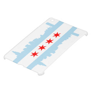 Chicago Flag Skyline iPad Mini Case