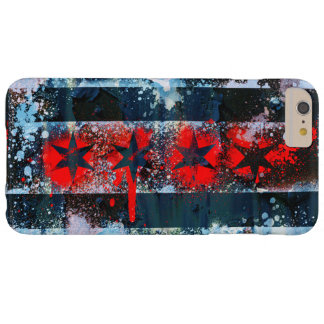 Chicago Flag Spray Paint Barely There iPhone 6 Plus Case
