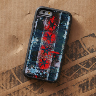 Chicago Flag Spray Paint Tough Xtreme iPhone 6 Case