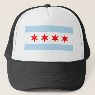 Chicago Flag Trucker Hat