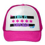 chicago flag truker hat