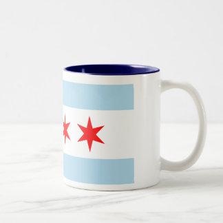 Chicago Flag Two-Tone Mug