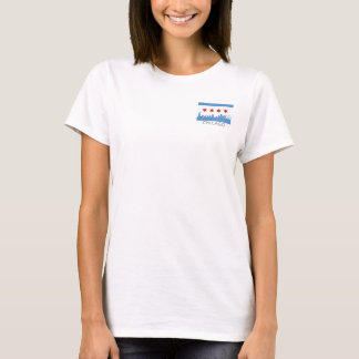 Chicago Flag: Windy City Pocket T-Shirt