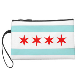 Chicago Flag Wristlets