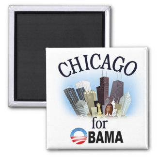 Chicago for Obama Magnet