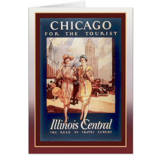 Chicago for the Tourist Greeting Card
