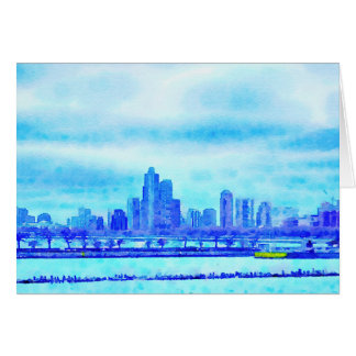 Chicago from the Navy Pier Greeting Card