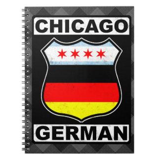 Chicago German American Notepad Spiral Notebook