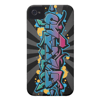 Chicago Graffiti Wildstyle iPhone 4 Cover