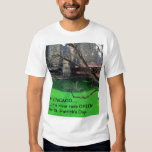 Chicago Green River for St. Patrick's Day T Shirts