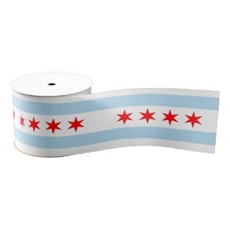 Chicago Grosgrain Ribbon
