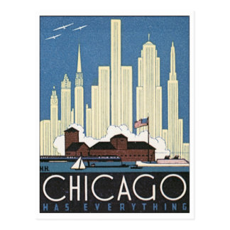Chicago Has Everything Postcard