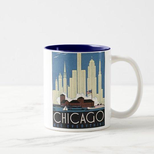 Chicago Has Everything Two-Tone Coffee Mug