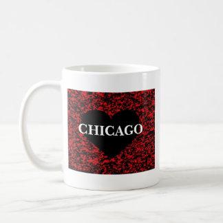 Chicago Heart Coffee Mugs
