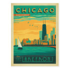 Chicago, IL - Enjoy the Lakefront Postcard