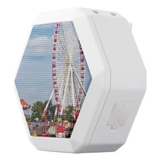 Chicago IL - Ferris Wheel at Navy Pier White Boombot Rex Bluetooth Speaker