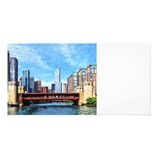 Chicago IL - Lake Shore Drive Bridge Photo Cards