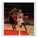 CHICAGO, IL - MAY 15: Derrick Rose #1 of the 4 Print