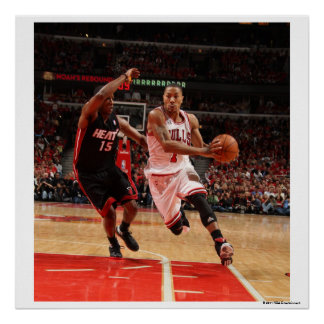 CHICAGO, IL - MAY 15: Derrick Rose #1 of the 4 Poster
