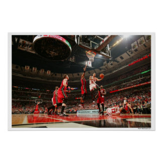 CHICAGO, IL - MAY 18: Derrick Rose #1 of the 5 Poster