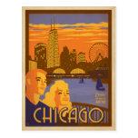 Chicago, IL - Navy Pier Postcard