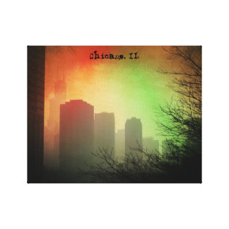 Chicago, IL skyline Canvas Print