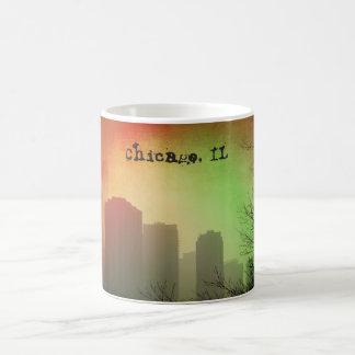 Chicago, IL skyline Coffee Mug