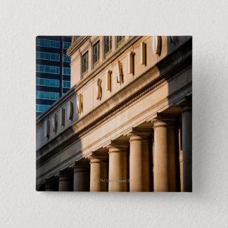 Chicago, Illinois 15 Cm Square Badge